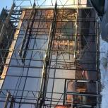 Монтаж фасадов и офисных перегородок, Новосибирск