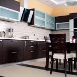 Кухня Венге ровный, Новосибирск