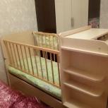 Продам кроватку-трансформер., Новосибирск