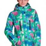 Продам горнолыжный костюм на девочку новый: куртка, штаны, Новосибирск