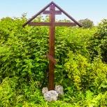 Крест из лиственницы, Новосибирск