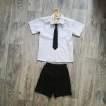 Продам рубашку и шорты для мальчика 4-6 лет, Новосибирск