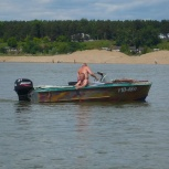 Продам лодку Прогресс 2 с мотором Mercyry 40, Новосибирск