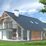 Проект дома с гаражом, Новосибирск
