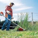 Скосить траву. Озеленение. Посев газона. Обслуживание территорий, Новосибирск