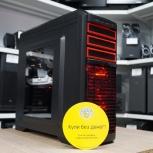 Стильный, Мощный пк от PowerCom: Core i7/GTX 1060 гарантия, Новосибирск