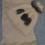 Комплект шапка-шарф, Новосибирск