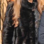 Норковая шуба цвет чёрный бриллиант!, Новосибирск