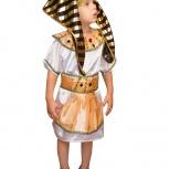 Костюм египетского фараона для мальчика 3-4 лет., Новосибирск