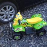 Продам детский квадроцикл geoby w422a б/у, Новосибирск