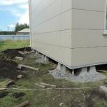 Ремонт фундаментов, подъём домов, Новосибирск