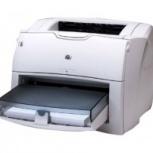 Принтер HP LaserJet 1300 с доп. картриджем, заправленным, Новосибирск
