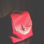 Женский рюкзак . Натуральная кожа, Новосибирск