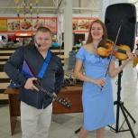 Шоу - дуэт Парадокс. Балалайка + скрипка, Новосибирск