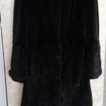 Продам чёрную норковую шубу,торг, Новосибирск