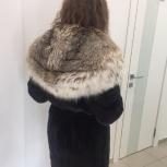 Шуба норковая с капюшоном из рыси, Новосибирск