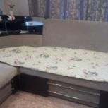 продам угловой диван расклодной ткант велюр, Новосибирск