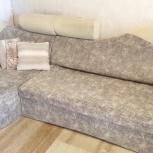 Продам угловой диван и кресло+арка б/у., Новосибирск
