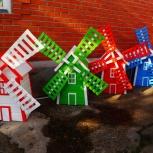 Декоративная мельница для украшения дачи, сада, Новосибирск