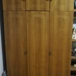 продам шкаф бельевой трехстворчатый с антресолями, Новосибирск