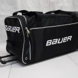 Спортивная сумка Bauer хоккейный баул на колесах. Доставка Сдек, Новосибирск