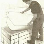 Вывозим ванны чугунные бу бесплатно, Новосибирск