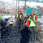 Бригада плотников- бетонщиков, Новосибирск