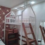 Кровать чердак домик, Новосибирск