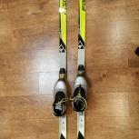 Пластиковые детские беговые лыжи Fischer RCS Sprint, Новосибирск