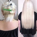 Горячее наращивание  волос, Новосибирск