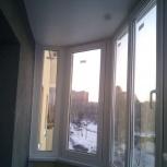 Остекление лоджий пластиковыми окнами. Остекление балконов окнами, Новосибирск
