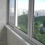 Остекление балконов, малоэтажное строительство, Новосибирск