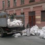 Вывоз мусора. Различный автотранспорт. Русские грузчики. Демонтаж, Новосибирск