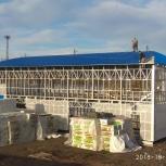 Строительство ангаров, Новосибирск