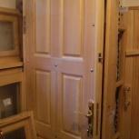 Двери деревянные делаем для балкона веранды дачи бани и дома входные, Новосибирск