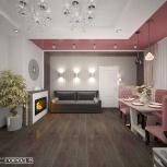Разработка дизайн-проекта жилого или общественного интерьера, Новосибирск