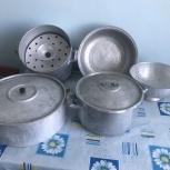 Набор посуды  + мантоварка, Новосибирск