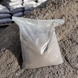 Песок в мешках по 25 и 50 кг, Новосибирск