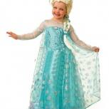 Новогодний костюм Эльза холодное сердце прокат и продажа рост 110-120, Новосибирск