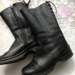 продам кожаные женские сапоги, Новосибирск