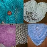 Продам шарфы и снуды ручной работы, Новосибирск