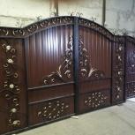 Кованые ворота от производителя, Новосибирск
