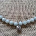 продам ожерелье нефрит с тибетским серебром., Новосибирск