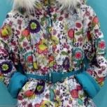 Комплект зимний для девочки Kiko 110-116 см, Новосибирск