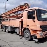 Услуги бетононасоса подача 18-24-32м., Новосибирск