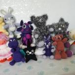 Подарок детям - Амигуруми вязанные игрушки от 3мес, Новосибирск