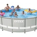 Каркасный бассейн Intex 457х122 см, Новосибирск