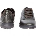 Продам новые кожаные кроссовки Geox Gunmetal Nebula 40h, Новосибирск