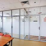 Алюминиевые перегородки, Двери, Фурнитура для стеклянных перегородок, Новосибирск
