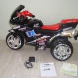 Продаётся детский мотоцикл на аккумуляторе ZP2131, Новосибирск